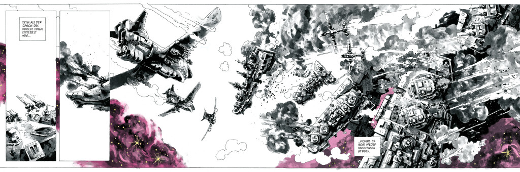 Ausschnitt Buchrolle Shipwreck