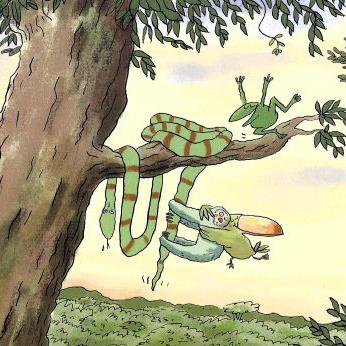Ein Buch ohne Worte nicht nur für die Kleinen: Der faule Freund